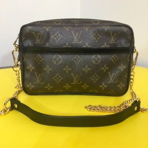 Louis Vuitton Compiegne 23 Shoulder Bag 💼 Black